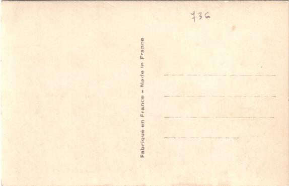 S.S NORMANIDIE - Carte postale glacée ANOG-1-2-R53-V