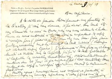 Paquebot S/S NORMANDIE - Carte postale Grand Format Glacée Noir et Blanc - Editeur : Anonyme - Réf. Site : ANOGFG 1-R952 PSB