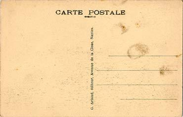 PAQUEBOT S.S NORMANDIE - Carte postale classique sépia - Editeur : ARTAUD - Réf. site : ARTC 1-137 PSB