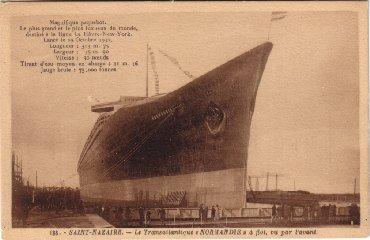 Editeur : ARTAUD - Carte-postale du Paquebot Normandie visible sur www.paquebot-normandie.net