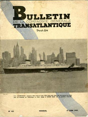 Bulletin C.G.T N422 du 15 Juin 1935