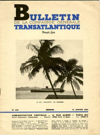 Bulletin C.G.T N429 du 15 Janvier 1936