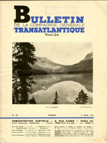 Bulletin C.G.T N431 du 15 Mars 1936