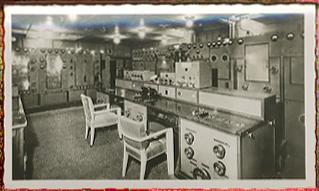 Paquebot Normandie - Carnet de photos petit format - Photo N94 LA RADIO
