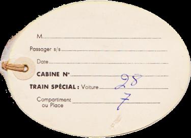 PAQUEBOT S.S NORMANDIE - ETIQUETTE DE BAGAGE TRAIN PAQUEBOT CLASSE TOURISTE GRAND FORMAT OVALE 2-1 Verso