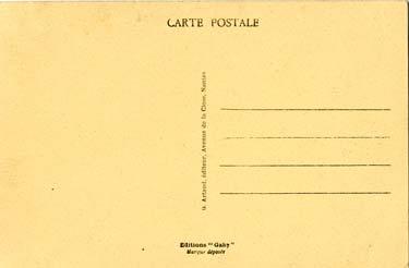 PAQUEBOT S.S NORMANDIE - Carte postale classique sépia Editeur ARTAUD-GABY Réf. GAB-ART-2-3-138-R-PSB