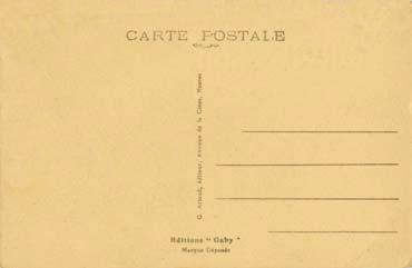 S/S NORMANDIE - Carte postale Petit format classique GAB-ARTC 5-2-189 v