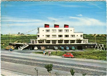 Paquebot S.S. NORMANDIE - Carte postale grand format couleurs glacée - Editeur : Krger - Réf. site : KRUGP HOT-763/13 PSB