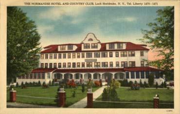 PAQUEBOT S.S NORMANDIE - Carte-postale U.S.A classique en couleurs - Editeur : Alfred S. LANDIS, WURTSBORO, N.Y - Réf. Site : LANDISP HOT-2-2