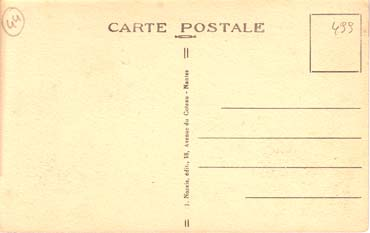 PAQUEBOT NORMANDIE - CARTE POSTALE CLASSIQUE SEPIA REF. NOZC 1-3