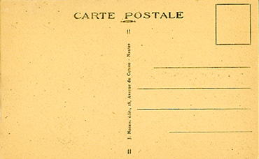 PAQUEBOT S.S NORMANDIE - CARTE POSTALE CLASSIQUE SEPIA - EDITEUR : NOZAIS - REF.SITE NOZC 1-7