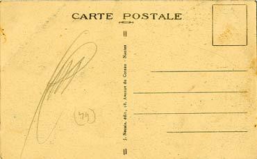 PAQUEBOT S.S NORMANDIE - CARTE POSTALE CLASSIQUE SEPIA - EDITEUR : NOZAIS - REF.SITE NOZC 1-8