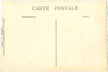 PAQUEBOT S.S NORMANDIE - Carte postale classique Noir et Blanc - Editeur STUDIO REBINS - Réf. REBINSC 3-3 PSB