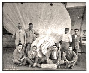 S.S NORMANDIE - S.P.C.N (Société Provençale de Construction Navale) - Photo 4 - Modèle d`hélice terminée