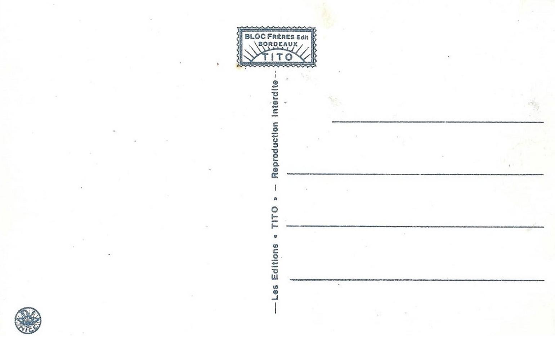 CARTE POSTALE CLASSIQUE COULEUR TITOCOC-10-6-V-PSB